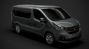 3D mitsubishi express minibus 2020