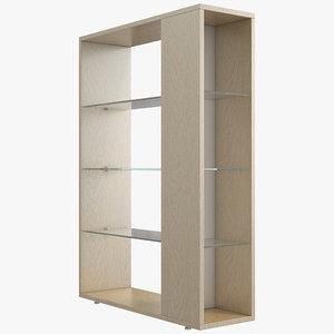 office shelves 3D model