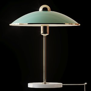 3D table lamps anthropologie rosa model