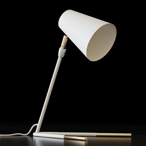 3D table lamps anthropologie gold-dipped