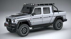 brabus 800 adventure 3D model