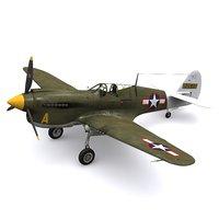P-40N Warhawk 35thFS 8thFG New Guinea 1944