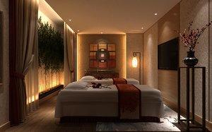 spa massage model