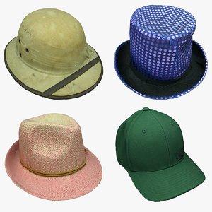 3D hat cap model