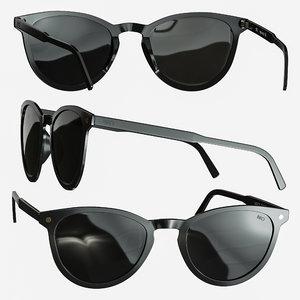 3D glasses sunglasses model
