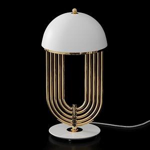 3D table delightfull turner lamp model