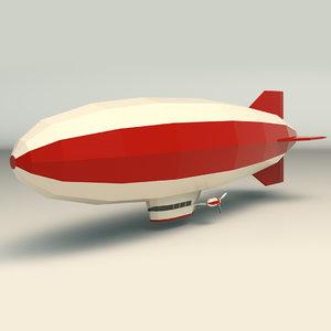 3D zeppelin zeppe