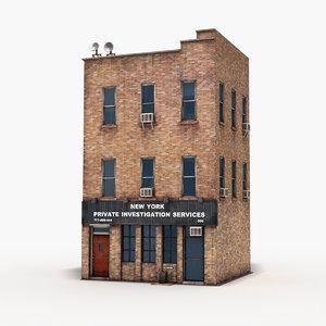 apartment building 1001 3D model