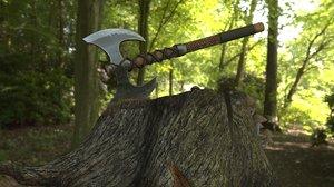 battle pbr 3D model