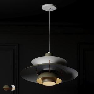 ceiling lights ph 5 3D model