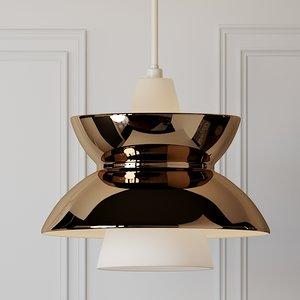 3D ceiling lights louis poulsen model