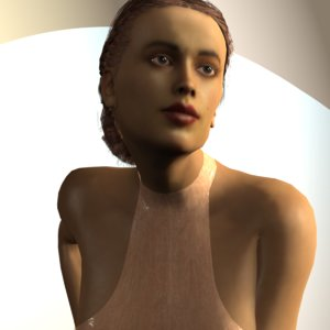 3D model realistic grace