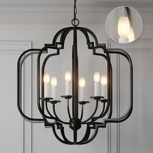 ceiling lights ballard designs 3D model