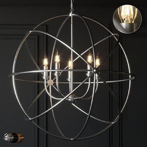 ceiling ballard design beau 3D model