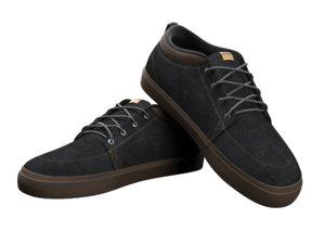 leather sport shoes 3D model