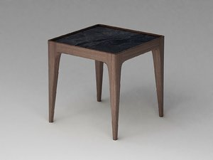 wooden stool - seat model