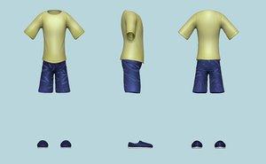 3D kit - boy clothing
