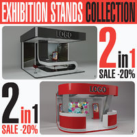 Exhibition Expo Stand Collection 2in1