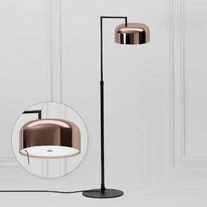 3D floor lamp lalu seed