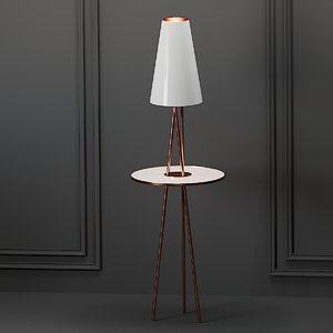 3D chelsea floor lamp