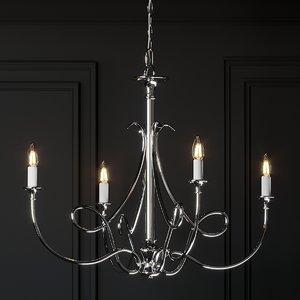 3D ceiling lights visual comfort
