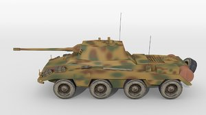 historical armoured 3D model