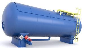 oil pressure tank model