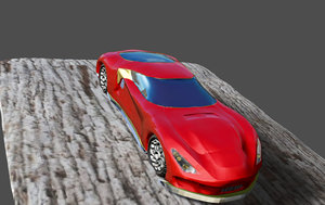 3D cars supercars