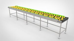 3D product conveyor