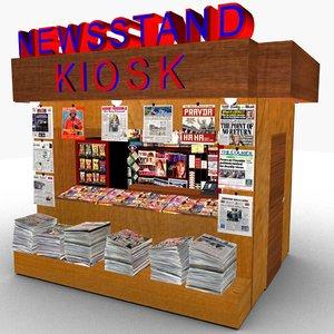 3D kiosk