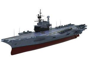 uss midway cv-41 3D model