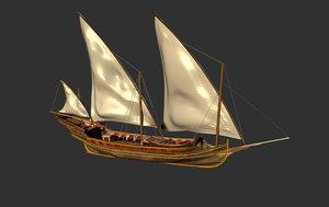 war ship 3D
