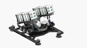 rolling launcher model