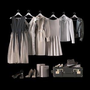 3D clothes set
