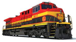 locomotive kansas city southern model