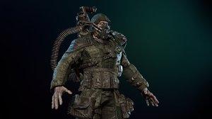 monster mutant heavy model
