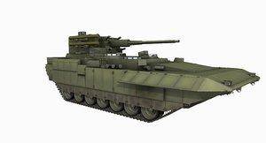 t15 btt russian armata model