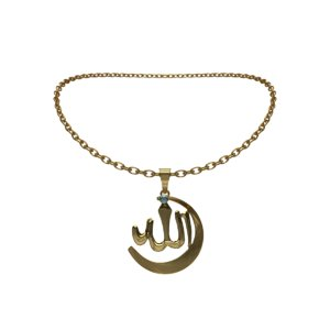 allah necklace 3D model