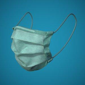 3D medical mask model