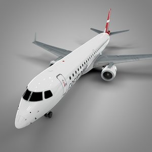 3D great dane embraer195 l684