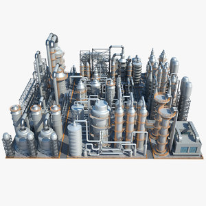 industrial area 3D