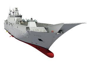 3D tcg anadolu lhd ship model