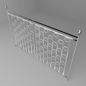 grillwork 5 3D model