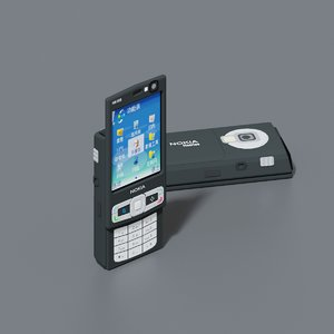 nokia n95 mobile phone 3D model