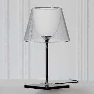 3D table lamps philippe starck