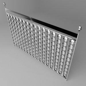 grillwork 11 3D model