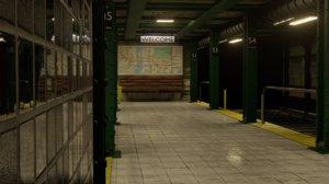 subway station model