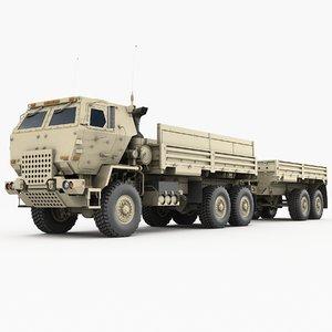3D model m1083 m1095 mtv trailer