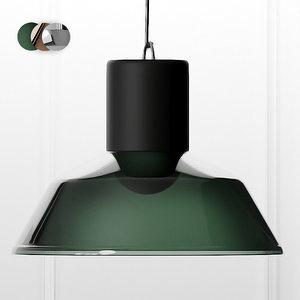 factory pendant lamp 3D model