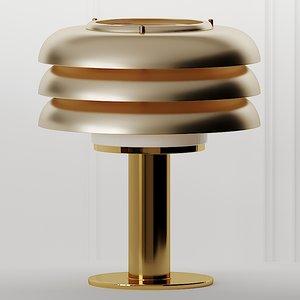 3D table lamps hans-agne jakobsson